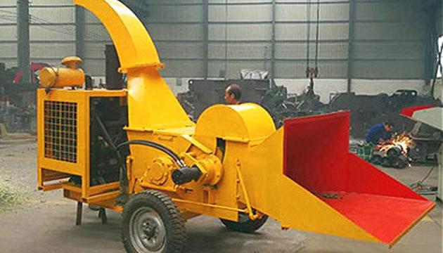 郑州,巩义大型移动树枝粉碎机